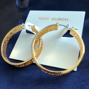 Tory Burch Gold Hoops